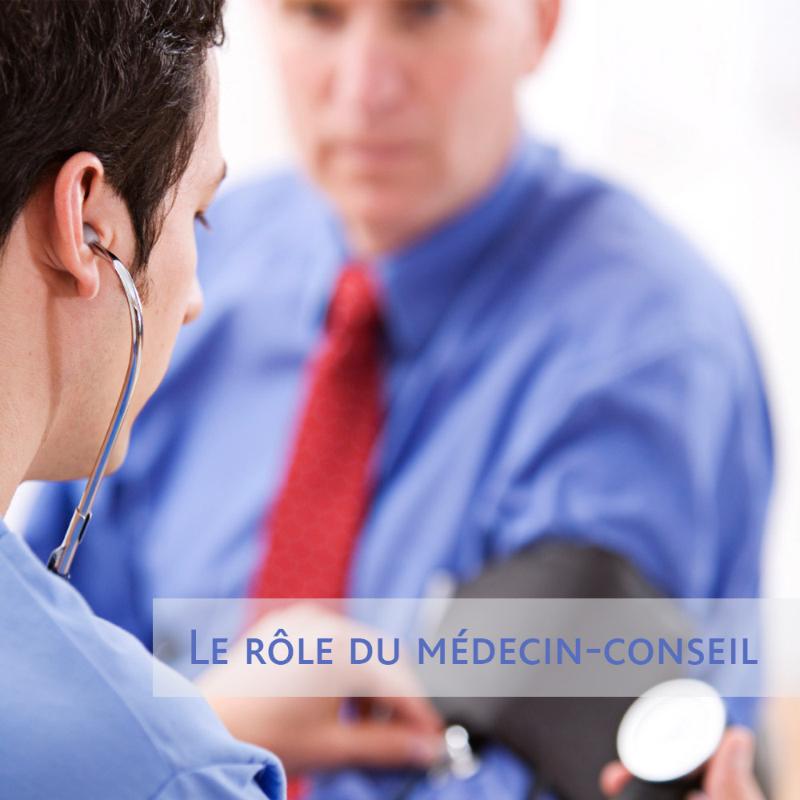 """Dépliant """"Le rôle du médecin-conseil"""""""